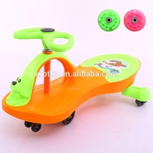 Baby outdoor sports exercise swing car price/car kids/children twist car