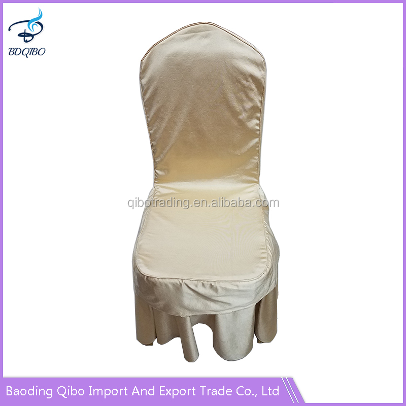 Spandex universal white stretch chair covers wholesale china