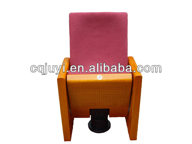 Fashion China igreja silla CCPIT EN With Movable leg Auditorium Chair furniture With Armrest JY-912M