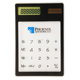 Mini Calculator Ultra Slim Solar Power Touch Screen LCD 8 Digit Credit Card Electronic Transparent Calculator