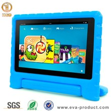 Kids safe non- toxi eva foam handle stand case for amazon fire hd 8