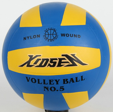 Xidsen,Qianxi Rubber Colorful Volleyball size 5,18 pannels,classic design