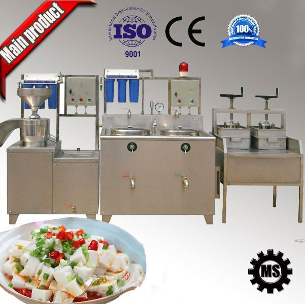 304 stainless steel high capacity make soya bean curd