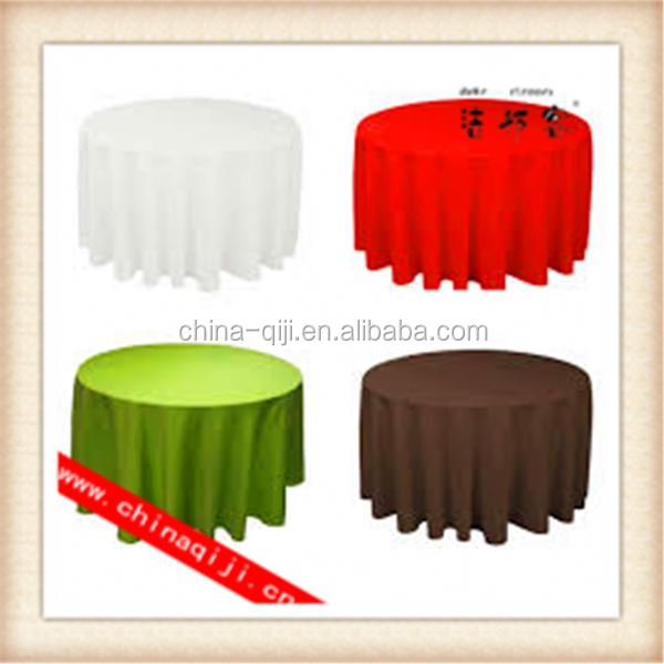 Home Textile Round Sharp vinyl tablecloth