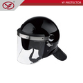 Anti riot helmet/Helmet With Mesh Visor/Self Defense Riot helmet