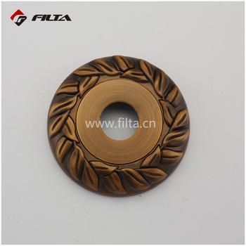 Round Coffee Door Hardware Factory Price Zinc Door Handle Lock Escutcheon