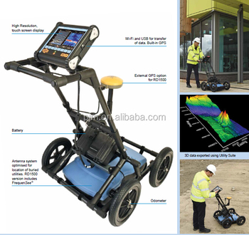 Radiodetection RD1100 gpr ground penetrating radar for complete range utility-locating
