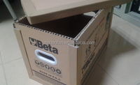 Plastic carry handle for havy carton box