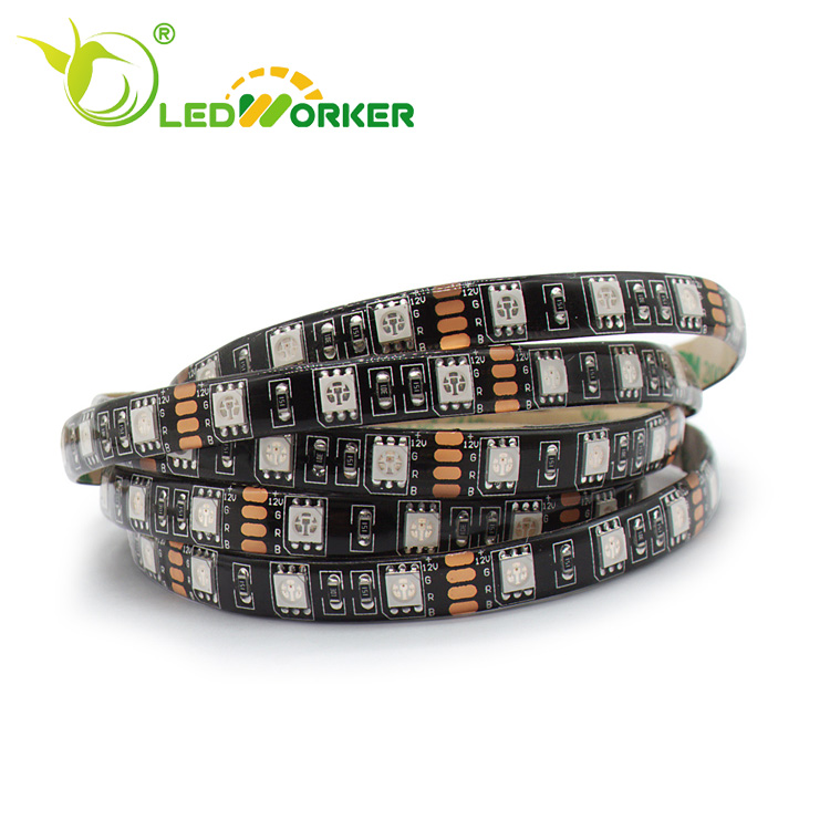 Computer Controller Profile Plastic Cover Waterproof Ip20 30 Smd/M Led Strip Light Diffuser Cover 12/24v 5050 Led Strip Lighting