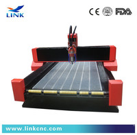 Good character high steady Jinan cheap stone edge profile router machine