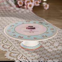 8 Inches Fine New Bone China Fancy Cupcake Wedding Cake Stand