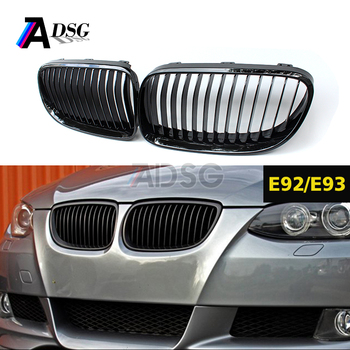 Car grille for BMW E92 E93 LCI front grille