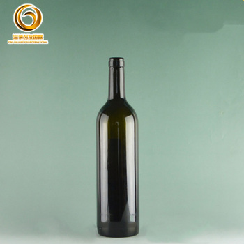 Promotional high quality bordeaux type 750 ml bottles