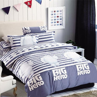 Cartoon Figure Printed Bedding Set