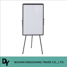 A black aluminum frame Display Stand Flip Chart Easel