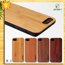 Mobile phone accessories,genuine wood phone case for iphone 7 case
