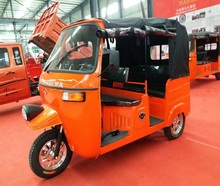 200cc and 250cc popular gasoline richshaw three wheels passenger tricycle
