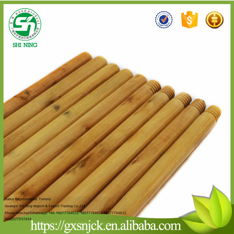 Factory directly:wood broom handle/wooden handle for wholesale