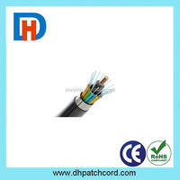 Best Price 12 core single mode GYXTW Armoured optic fiber cable Made In China