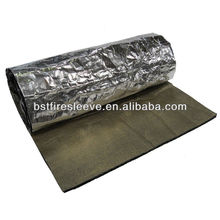 Exhaust Muffler Insulation Heat Sound Shield Mat Pad