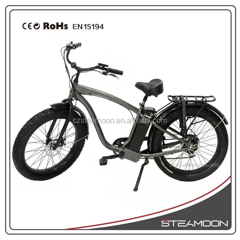 "TOP E-cycle the newest snow ebike/ fat ebike 26""*4.0 tyre for sale"