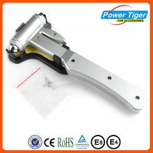 Emergency Hammer Window Punch - Recessed Razor Sharp Seat Belt Cutter Knife -Safety Hammer Head to Clear Glass