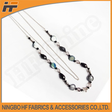 Fashion plastic beads chain necklace