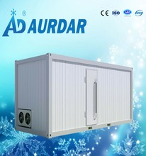 china suppliers gas station ice storage cold room/walk in freezer