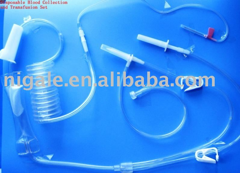 Disposable Blood Collection & Transfusion Set