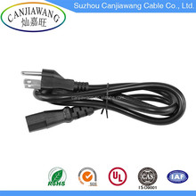 Wholesale NEMA 5-15 USA 3 Pin Plug AC Power Cord Extension Cords with Socket
