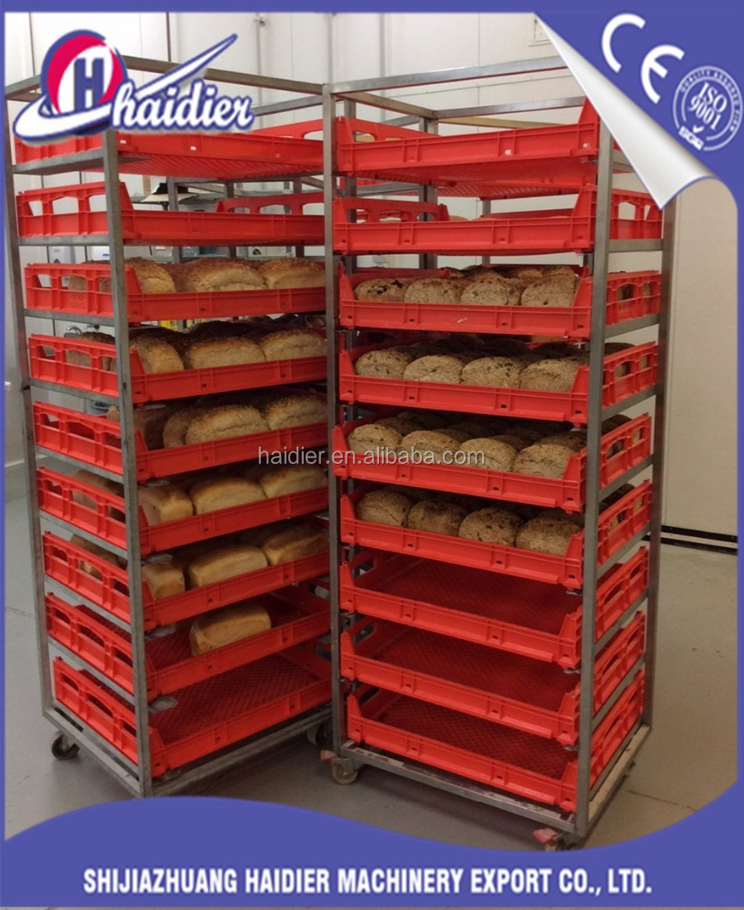 stainless steel bakery cooling rack kitchen trolley with wheel brakes