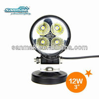 Guangzhou Professional manufacturer,china supplier ,auto led work light 12w ,Epistar chips ,,waterproof IP67,6000K,POPULAR