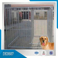 Square Tube Steel Dog Cage