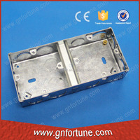 Hot Sale Dual Gang Galvanized Metal Swtich Boxes