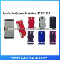 Mesh Hard & Soft Hybrid Case Cover for SAMSUNG Galaxy S4 Active I537