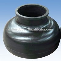 high quality black abrasion resistant air dome for mud pump