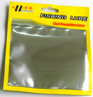 Best Price Ziplock Bags 11cm*13cm Plastic Poly Bags Best for Soft Fsihing Lures Packaging