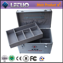 2015 new products aluminium tool case with drawers portable aluminum tool box medical tool box