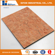 4Mm Acp Panel Building Material Acm Board Wall Decorative Plastic Stone Panels