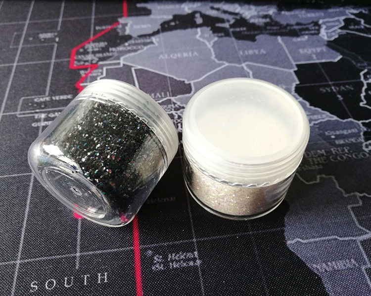 Aluminum heat resistance glitter powder for plastic injection