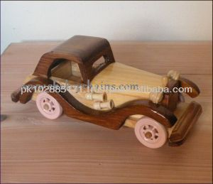 Handcrafted wooden Car