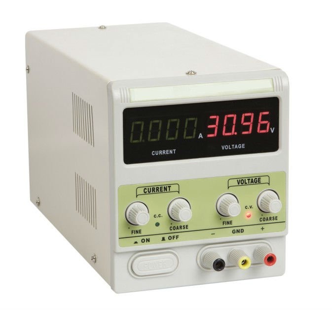 DC Power Supply(30V/3A) 4 digit displays