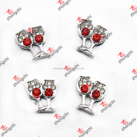 Wine Glass Slide Charms Wholesale