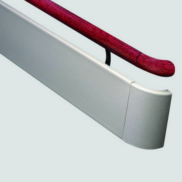 PVC&aluminum handrail wall protection accessories
