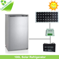 New Arrival! Single Door 12VDC 100L Solar Refrigerator for Home use