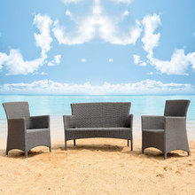 Outdoor Synthetic Rattan Garden Sofa Patio Set on Sale