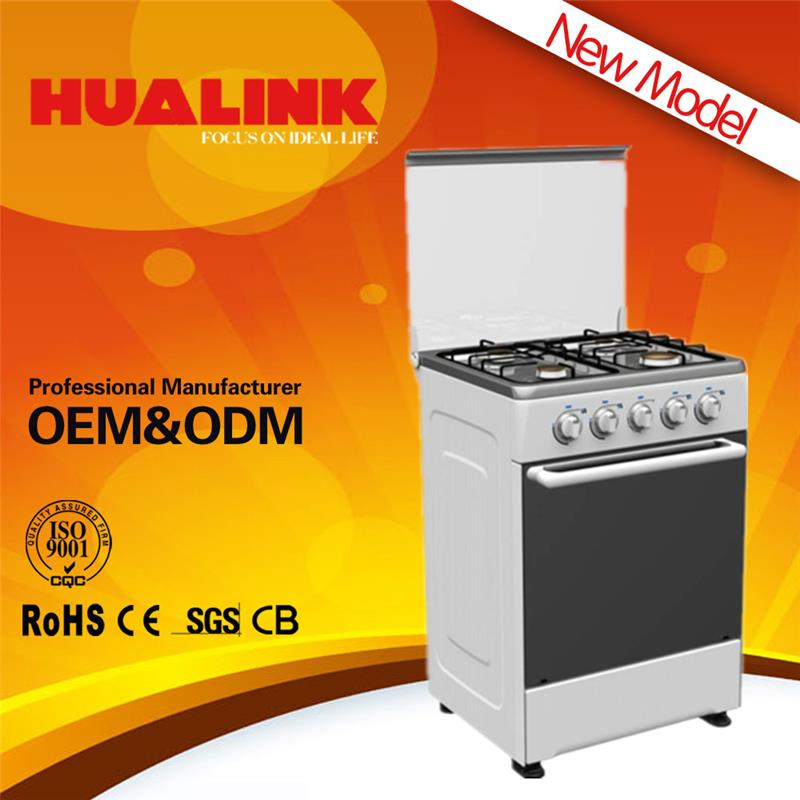 H-60BW03 for wholesales free standing gas stove with glass cover