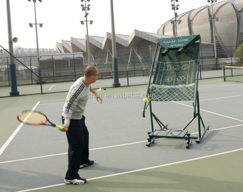 tennis shooting machine