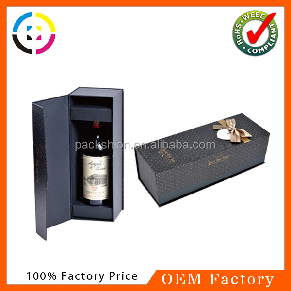Dongguan round tube wine gift box