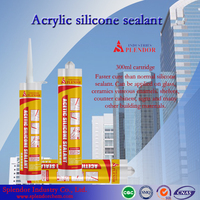 Construction Fire-proof Weather-proof General Acetic silicone sealant